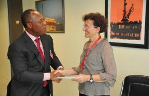 Dr Alda Gemmani & Mr Ngoka