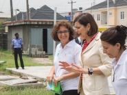 Loving Gaze_President Boldrini Visit_SS Peter & Paul School_2
