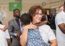 Loving Gaze_President Boldrini Visit_St Kizito Clinic_10