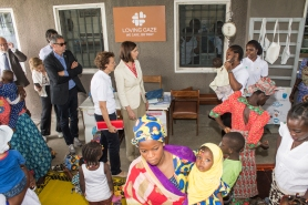 Loving Gaze_President Boldrini Visit_St Kizito Clinic_13