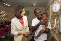 Loving Gaze_President Boldrini Visit_St Kizito Clinic_2