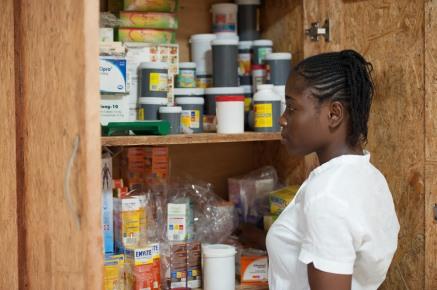 St Kizito Clinic, Oreta, Ikorodu, Lagos Photo © Margherita Trestini